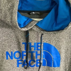 Men's large north face hoodie